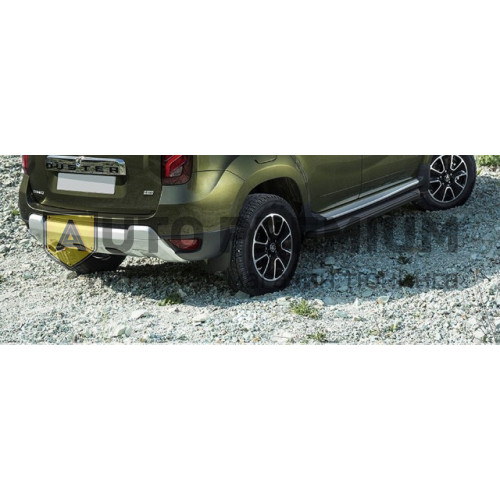 Пороги на Renault Duster (2012-2015...)Black